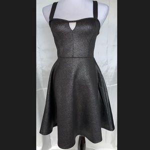 NWT Body Central Black Mini Dress